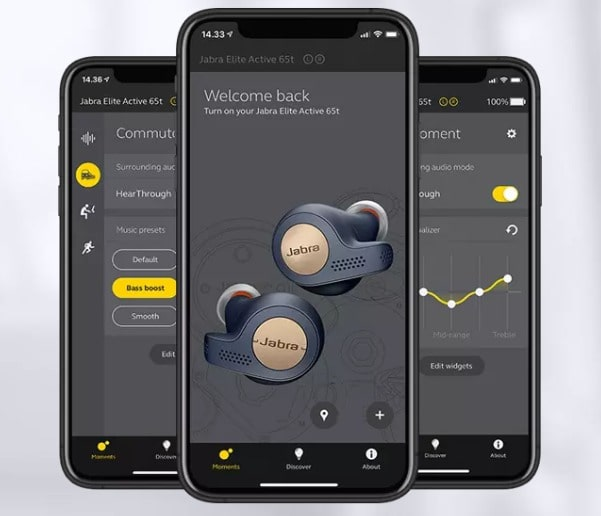 Hoe prettig is de Jabra Sound+ app?